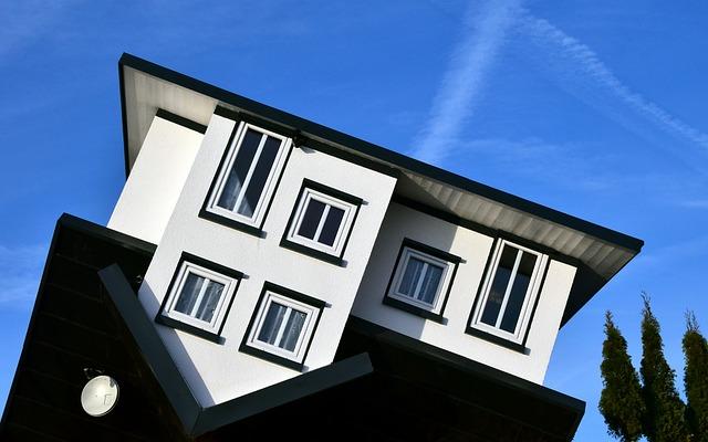 dům na střeše