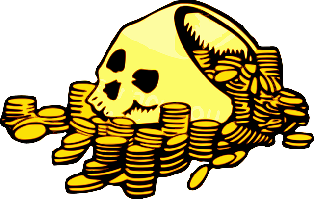 lebka a mince
